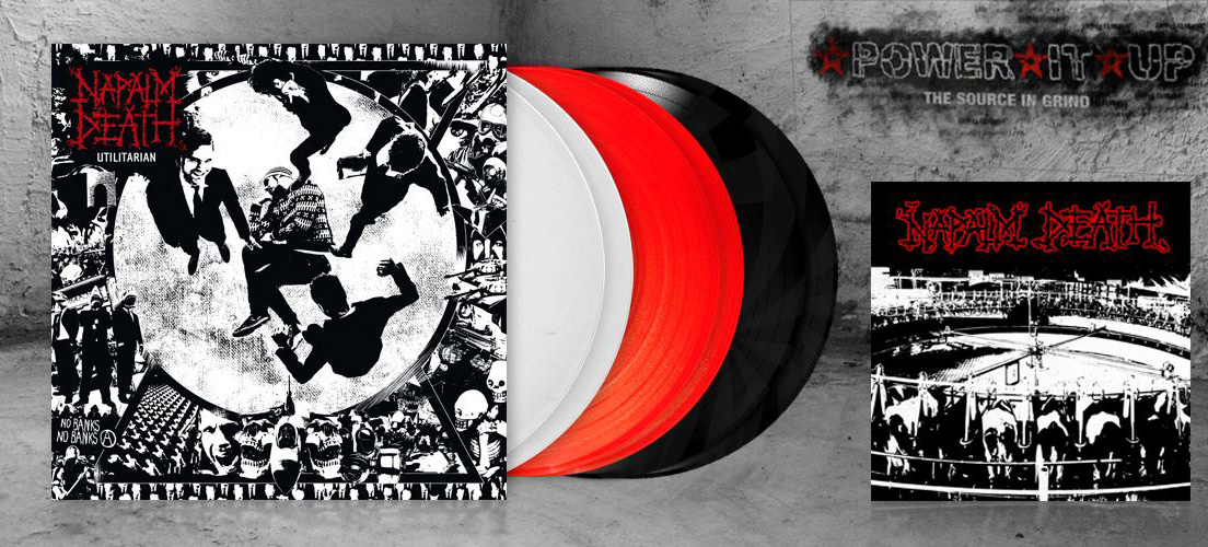 Utilitarian Reissue On Its Way Official Napalm Death