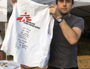 Charity auction: Special vest signed by Barney from Napalm Death!