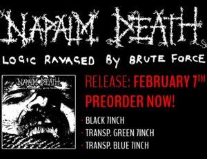 "NAPALM DEATH announce a new 7"" / Digital EP"
